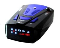 Wholesale New Car Radar Detector Band Voice Alert V7 Anti Radar Detector LED Display Degrees Car Speed Testing System