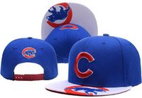 away box - New MLB Chicago Cubs Baseball Caps Front Logo Alternate Adjustable Hat wicks away Adult Sport Cap XD With Box lh