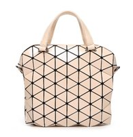 Wholesale Unisex Briefcases Hot Fashion Preppy style Women s Tote Shoulder bag for UNISEX Geometric Lattice SAME AS BAOBAO BAG