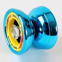 Wholesale Lightning Mink Precision KK Bearing Metal Plastic Yo Yo Toys Brinquedos Boy Toys Birthday Gift