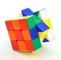 Wholesale NEW ShengShou Magic Cube Professional x3x3 Rainbow Cubo Magico Puzzle Speed Classic Toys Learning Education For children