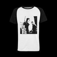 Le dernier d'entre nous jeu vidéo 100% coton T-shirt personnalisé Raglan (USA Size)
