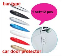 Wholesale Car bar type prevent scratch car door protector protect car door from hit set for general cars