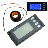 amp combo - New for in AC A Digital Combo Panel Meter Volt Amp kWh Watt Working Time CT