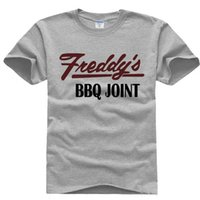 bbq house - House of Cards Tneddy BBQ JOINT T Shirt Short Sleeve Male Frank BBQ t shirts Cotton Tee Shirts