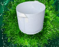 Wholesale Planting Bags Round Fabric Pots Plant Pouch Root Container Grow Bag Aeration Pot Container New Peat Pots Breathable Bag Plant