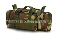 Wholesale Brand New duffel travel bag outdoor oxford Camouflage mountaineering fishing camera bags B18