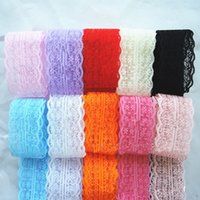 Wholesale 1Yard Length Acrylic Yarn cm Width Lace Band Accessories Handmade DIY Lace Material Home Wedding Decor Supplies High Quality