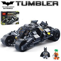 batman vehicles toys - Batman The Tumbler Batmobile Joker Super Heroes DC Building Blocks Marvel Set Minifigures Toy Decool
