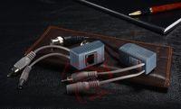 Compra Utp pasivo balun bnc-3en1 / 2en1 1 canal BNC Balun video pasivo transmisor receptor para la cámara de circuito cerrado de televisión UTP Con energía / Video / Audio 3 en 1 (300 m)