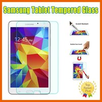 Wholesale Samsung Tablet Tempered Glass Screen Protectors for Samsung Tab A S E P600 T550 T560 T800 N8000 iPad with Retail Box