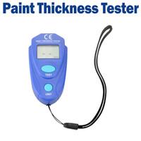 Wholesale Digital LCD Coating Thickness Gauge Car Painting Thickness Tester Paint Thickness Meter DIY Instrument mil MM H126