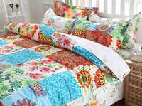 Cheap Bohemia boho bedding sets duvet cover bed sheet pillowcase bed set bed linen bedclothes bedspread twin full queen king size