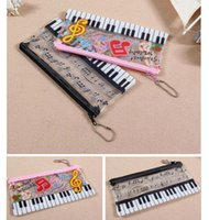 Wholesale Seven One Stationery Set Piano Music Notes Stationery Set Music Pencil Bag Stationery Set