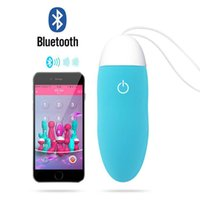 adult iphone - Smart APP Bullet Vibrator Eggs Adult Sex Toy Clitoris Stimulate Bluetooth Wireless Remote Control Via iPhone Android Mobile Speeds G Spot