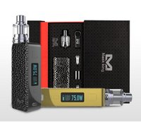 Máscara rey (MK) - Tibox75 Suite Productos DNA75W inicio electrónico cigarrillo E-cigarrillo Kits DNA 75W chip de control de temperatura-mezclado lote