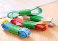 Wholesale high quality Body Measuring Ruler Sewing Tailor Tape Measure Soft Flat Inch M