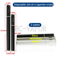 disposable cigarette - 2016 new product disposable e cigarette vaporizer pen bbtank t1 cbd oil vape pen THC vaporizer co2 extract pen vape for cbd oil
