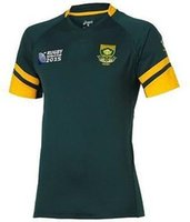 africa football - 2015 Team south africa rugby jersey springboks shirt Word Cup football jerseys south africa rugby jersey