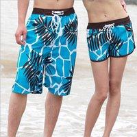Wholesale Summer Man s Casual Shorts Drawstring Loose Shorts Couple Board Shorts Beach Shorts Lovers Sport wear Swimwear Boardshorts