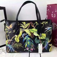 bags birds - Black Grape flower classic bird production of imported leather exquisite workmanship the handbag
