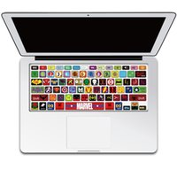 Wholesale Laptop Skin Decals Keyboard Skin Cover Decal Sticker Protector for Macbook Pro Air Inches