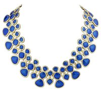 Wholesale Mixed Of European Major Suit Clavicle Chain Exquisite Women s Necklace Necklaces Blue Online Jewelry
