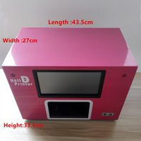 Wholesale Hot Nail Art Printer DIY Nail Printing Machine D Artpro Nail Printer With Screen DHL