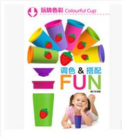 Wholesale Taobao hot products drinking cup Baby Magic Cup children Training Cup security leak children drinking cup