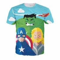 age tshirts - Age of Ultron T Shirt Tee Comics Heroes t shirts Summer Hipster D t shirt Captain America Hulk Prints tshirts Mens tees tops