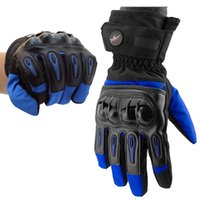 Wholesale Heated Motorcycle Gloves Racing Waterproof Windproof Winter Warm Leather Cycling Bicycle luvas Da Motocicleta Alpine Stars