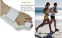Wholesale Top Quality Bunion Device Hallux Valgus Pro orthopedic Braces Toe Correction Feet Care Corrector Thumb Goodnight Daily Big Bone Orthotics