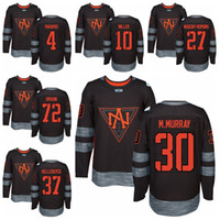 gibson - 2016 World Cup North America Ice Hockey Jerseys WCH Matt Murray Jonathan Drouin Seth Jones John Gibson Ryan Nugent Hopkins