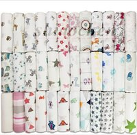 Wholesale Kids Muslin Swaddle Blankets Aden Anais Wraps Bedding Newborn Cotton Modern Murlap Swaddles Bath Towels Parisarc Robes Quilt Robes A1059