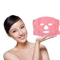 Wholesale Women Girl Tourmaline Gel Slim Face Facial Beauty Massage Mask Facemask Skin Health Care