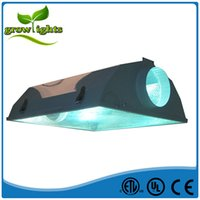 air cooled reflector - Hydroponics growing system aluminum quot air cool grow light lampshade reflector lighting fixture