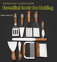 baked steak - dough cutter Spatula Potato knife Steak Shovel Salad scraper chopper Pizza BBQ Baking Tools kitchen tools