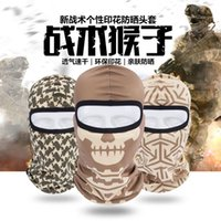 Wholesale New Popular forest outdoor tactical sunscreen breathable Xihan Motorcycle Riding Hood tactical visor headgear customized
