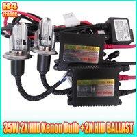 Wholesale Hid xenon conversion kit H4 K W W HID AUTO CAR Xenon Headlights HID xenon ballast
