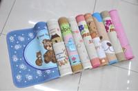 Wholesale High quality Korea cute little bear pastoral Bathroom Absorbent Floor Mat Door Mat Carpet Mats Non slip Pad RS01