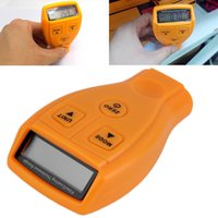 audi paint - 2016 Newest Ultrasonic Thickness Gauge Diagnostic Tool Digital Automotive Coating Ultrasonic Paint Iron Meter Paint Coating Thickness Gauge