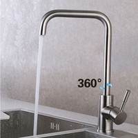 Wholesale Pb Free Green and Healthy Stainless Steel Character kitchen Faucet High Quality Years warranty Hot and Cold Water kitchen mixer tap