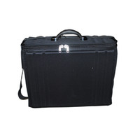 Wholesale light weight EVA material eyewear shoulder bag brief case storage box eyeglass sample suitcase frame display