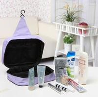 Wholesale New Korean creative high capacity portable travel bag wash wash bag hanging hook canal wash bag bag