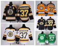 Wholesale HOT SALE Men s Boston Bruins Patrice Bergeron Ice Hockey Practice Alternate Jerseys High Quality Stitched Jerseys Five Colors