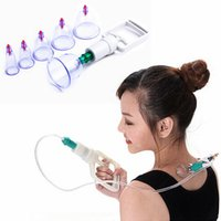 Wholesale Vacuum Cupping Device Tank Vacuum Magnetic Therapy Devices Massager Therapy Suction Apparatus Cups Body Health Care