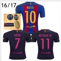 barcelona custom jersey - custom free Mixed buy DHL thai men barcelona jerseys MESSI ARDA A INIESTA SUAREZ SERGIO I RAKITIC NEYMAR JR home and away Footbal