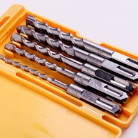 Wholesale alloy twist Drill Bit Power Tools set Square shank Electric Hammer drill bit set