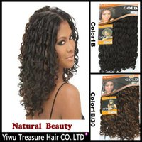 beauty collection hair weave - 6PCS Noble Natural Beauty Collection Hair Extensions Long Curly Synthetic Weft quot Color1b b High Quality Afro Hair