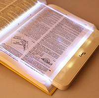 al por mayor lectura de la visión-Al por mayor mágica de la visión nocturna de luz LED libro de lectura de placa plana portátil envío Panel de recorrido de coche gratuito